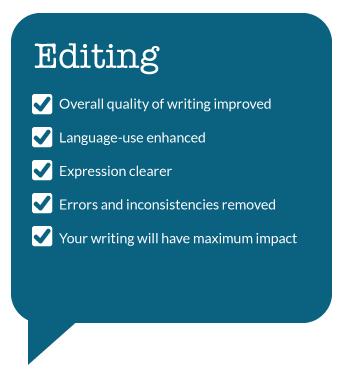 Good essay editing services