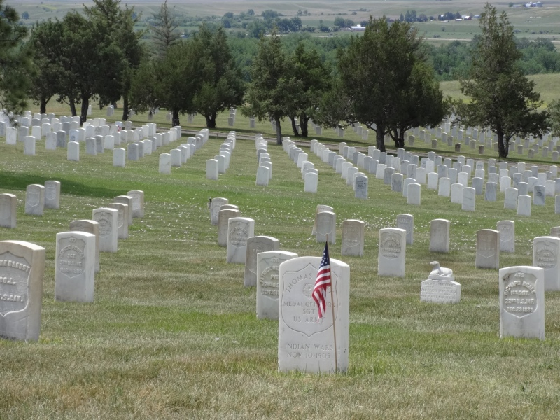 Cemetery Ridge, Little Bighorn Battlefield National Monument
