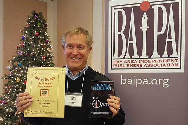 Dennis Koller given BAIPA Book Award for Fiction