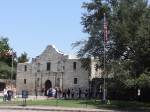 The Alamo, San Antonio, Texas.